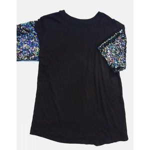 Wild Fable Sequin T